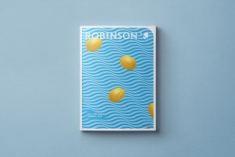 ROBINSON Katalog Sommer 2018. Gestaltung: Stefan Böhm für Scholz & Friends Hamburg